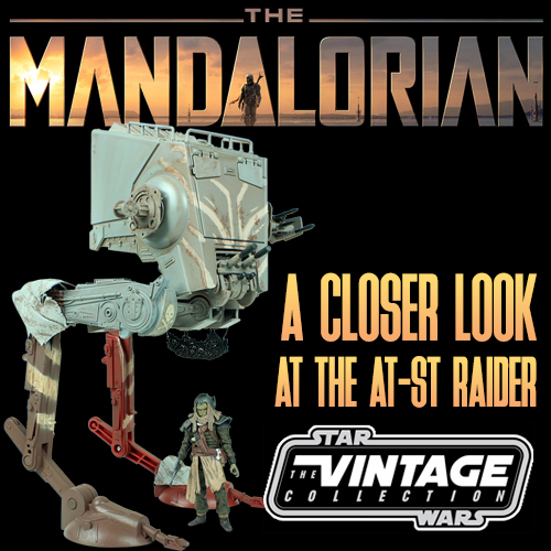 Join Us For A Look At The AT-ST RAIDER