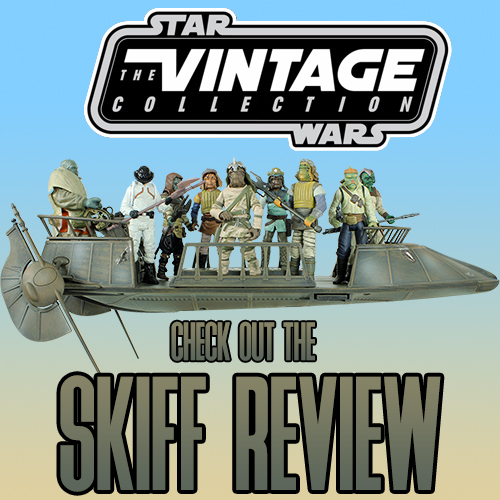 The Vintage Collection Tatooine Skiff Review