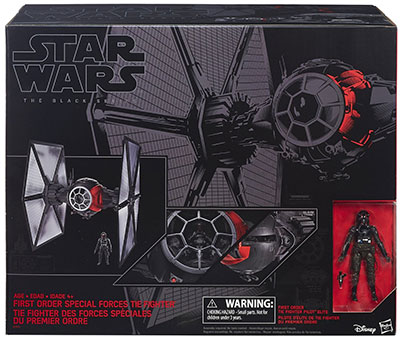 Star Wars The Force Awakens 6-inch Tie Fighter