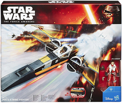 Star Wars The Force Awakens Poe's Xwing Fighter