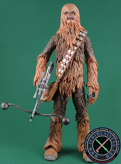 Chewbacca figure, 6black2