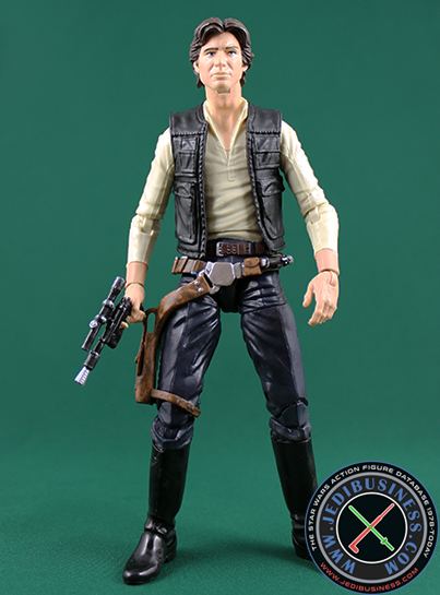 Han Solo figure, 6black2exclusive