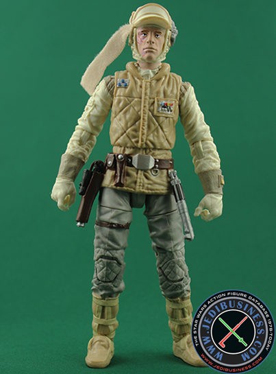 Luke Skywalker figure, 6black2deluxe