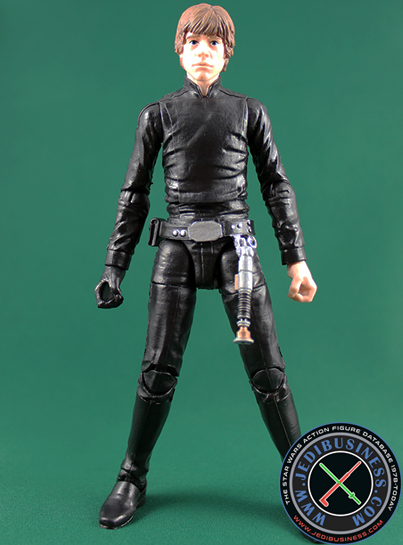 Luke Skywalker figure, 6black2