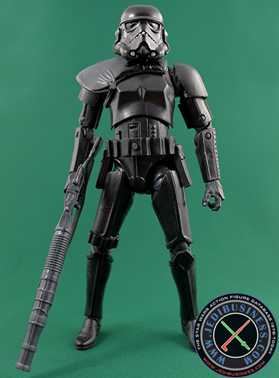 Shadow Stormtrooper Commander figure, 6black2Exclusive