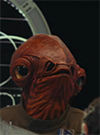 Admiral Ackbar, With First Order Officer figure