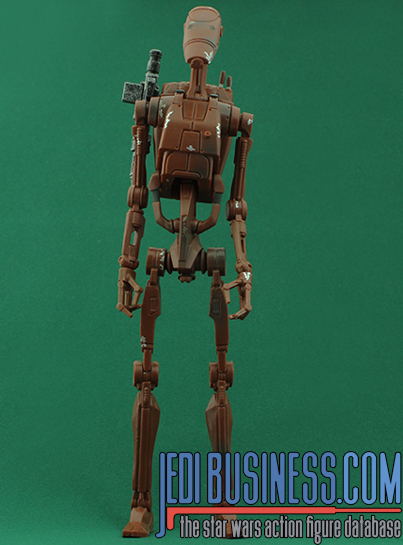 Battle Droid figure, bssixthree