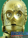 C-3PO With Chewbacca Star Wars The Black Series 6""