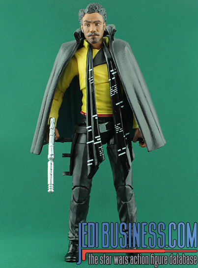 Lando Calrissian Solo: A Star Wars Story The Black Series 6""