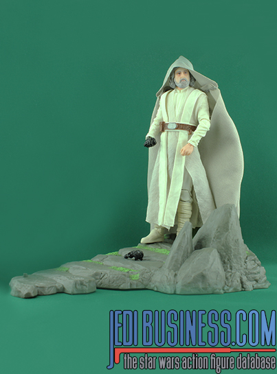 Luke Skywalker With Ahch-To Island Base Star Wars The Black Series 6""