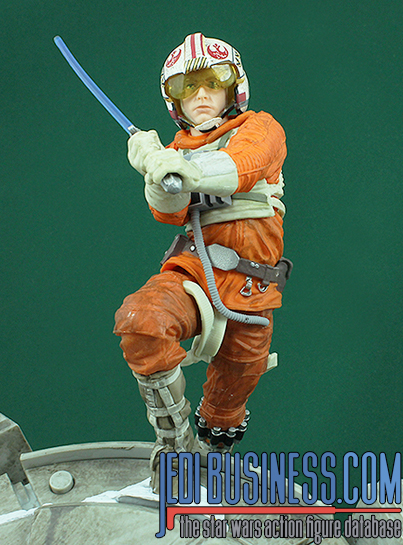 Luke Skywalker figure, bssixcenterpiece