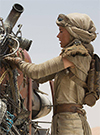 Rey, With Rey's Speeder (Jakku) figure