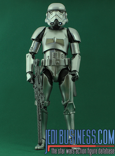 Stormtrooper figure, bscarbonized