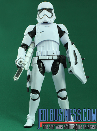 Stormtrooper figure, blackfirst