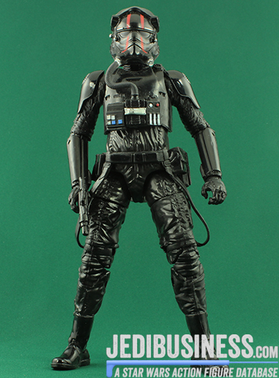 Tie Fighter Pilot figure, bssixthreevehicles