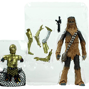 Chewbacca With C-3PO