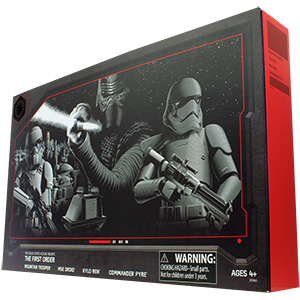 Commander Pyre First Order 4-Pack