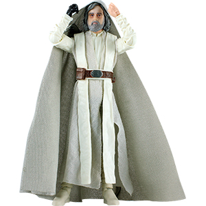 Luke Skywalker With Ahch-To Island Base