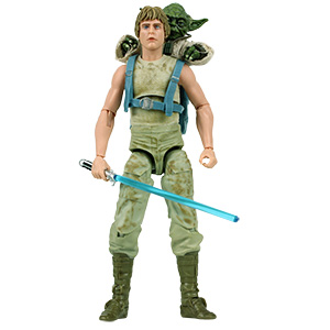 Yoda Jedi Training 2-Pack With Luke Skywalker