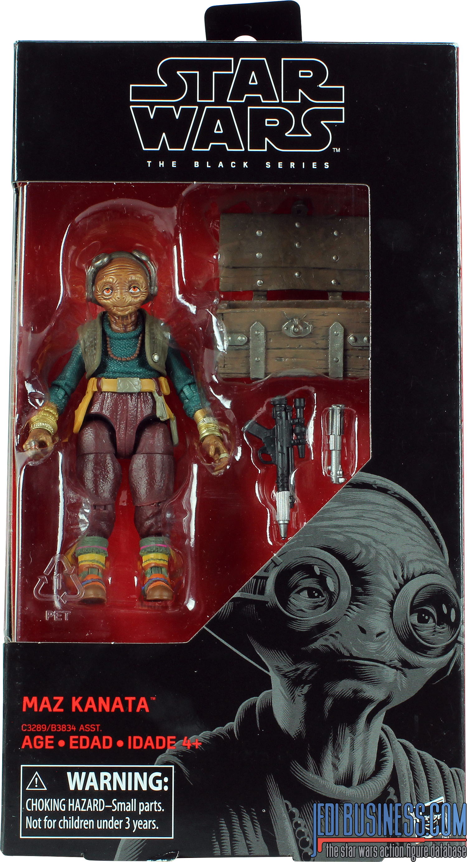 Maz Kanata With Chest Box