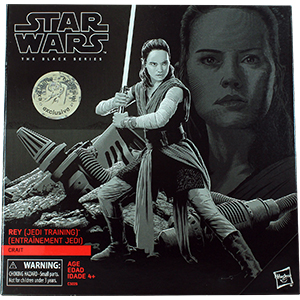 Rey With Crait Base