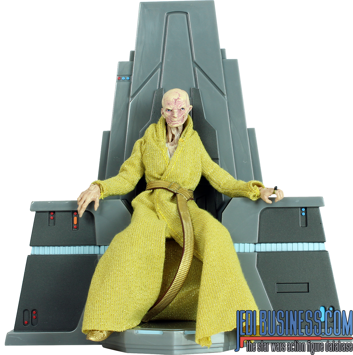 Supreme Leader Snoke With Throne