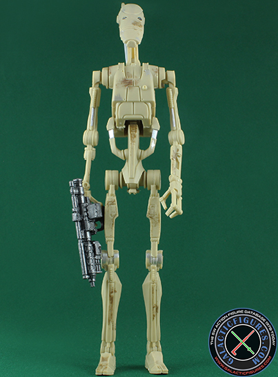 Battle Droid figure, blackseriesphase4exclusive