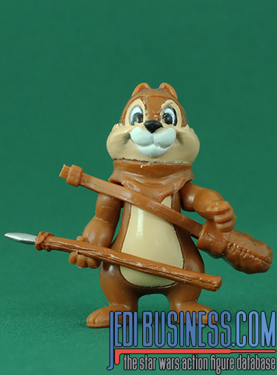 Chip Series 3 - Chip And Dale As Ewoks