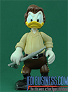 Donald Duck, Series 4 - Donald Duck As Han Solo In Carbonite figure