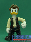 Donald Duck, Series 1 - Donald Duck As Han Solo figure