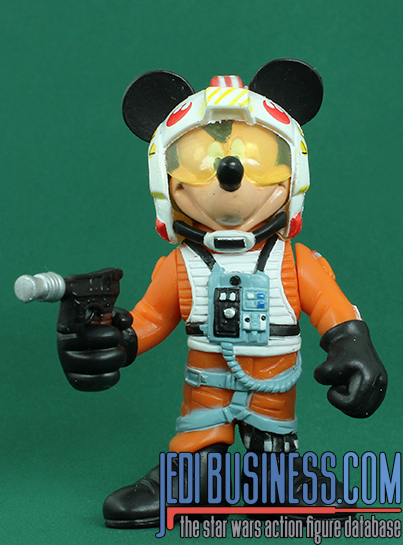 Mickey Mouse Series 3 - Mickey Mouse As Luke Skywalker (X-Wing Pilot) Disney Star Wars Characters
