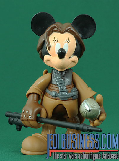 Minnie Mouse Series 4 - Minnie Mouse As Princess Leia (In Boushh Disguise)