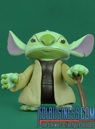 Stitch Series 6 - Stitch As Yoda With Chair