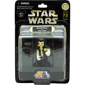 Donald Duck Series 1 - Donald Duck As Han Solo
