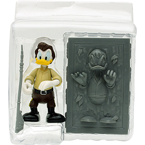 Donald Duck Series 4 - Donald Duck As Han Solo In Carbonite
