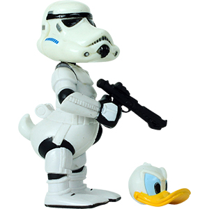 Donald Duck Series 3 - Donald Duck As Stormtrooper