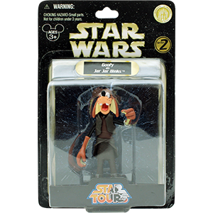 Goofy Series 2 - Goofy As Jar Jar Binks