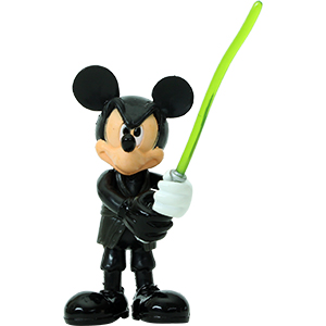 Mickey Mouse Series 4 - Mickey Mouse As Luke Skywalker (Jedi Knight)