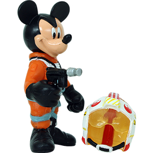 Mickey Mouse Series 3 - Mickey Mouse As Luke Skywalker (X-Wing Pilot)