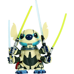 Stitch Series 5 - Stitch As General Grievous