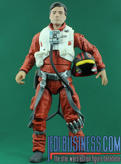 Poe Dameron X-Wing Pilot Disney Elite Series Die Cast