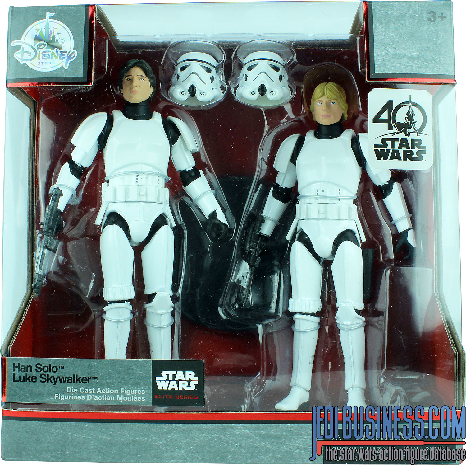 Luke Skywalker, 40th Anniversary 2-Pack
