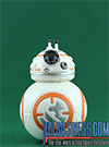 BB-8, With Rey, D-0 And Millennium Falcon figure