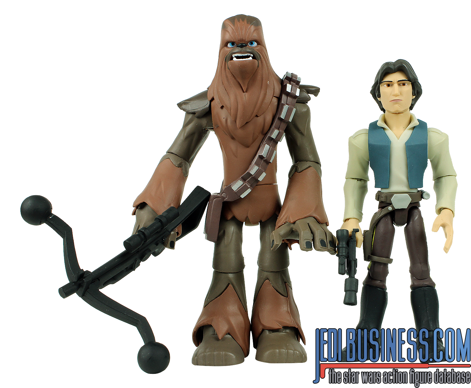 Chewbacca With Han Solo And Millennium Falcon