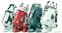 R0-4LO 2015 Droid Factory 4-Pack