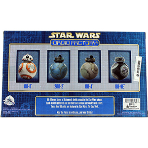BB-4 2017 Droid Factory 4-Pack The Last Jedi