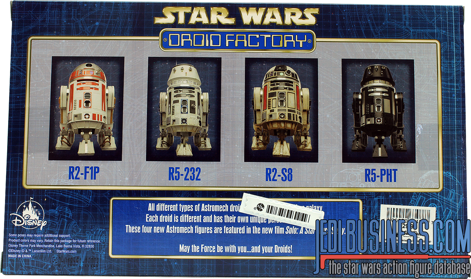R5-PHT, 2018 Droid Factory 4-Pack