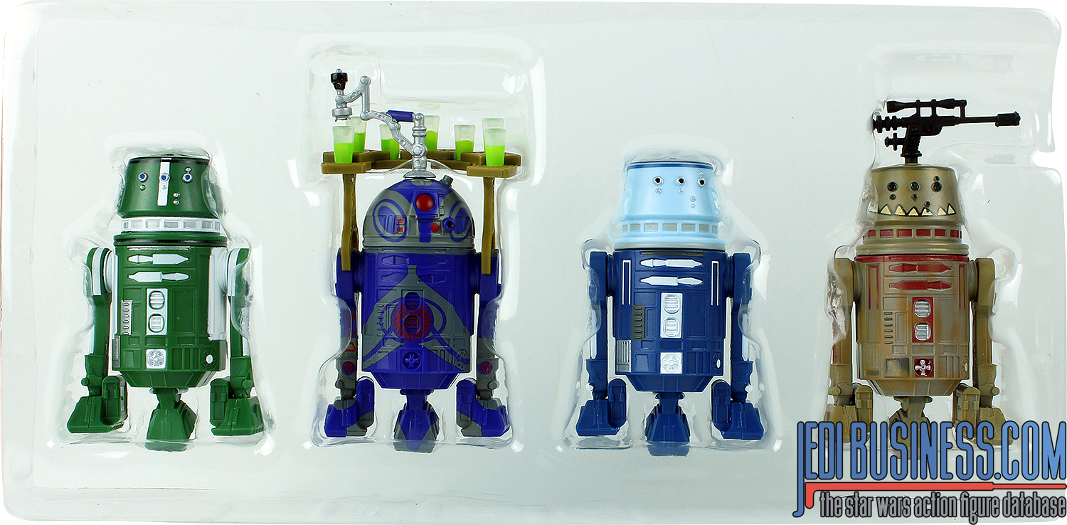 R5-P8 2017 Droid Factory 4-Pack Clone Wars