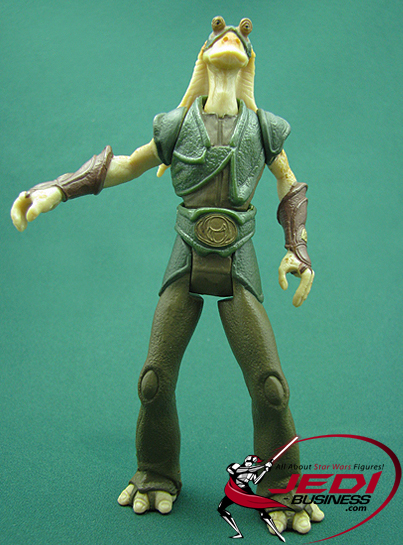 Gungan Warrior figure, Episode1creature