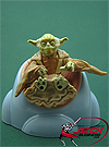 Yoda, With Jedi Council Chair figure